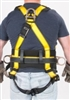 MSA 10072484 Workman Harness - XL With Qwik-Fit Chest And Leg Buckles With Back And Hip Attach