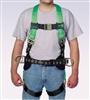 Miller P950QC-77/UGN DuraFlex Python Ultra Harness - With Quick-Connect Buckle Legs, Side D-Ring And Body Belt