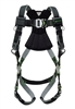 Miller RKN-QC-B/UBK Revolution Harness With Kevlar-Nomex Webbing - With Quick-Connect Buckle Legs And Removable Belt