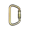 "MSA SRCC642 1.2"" Gate Auto-Locking Steel Carabiner - NFPA"