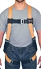 Titan TF4507/UAK T-Flex Stretchable Harness With Back And Side D-Rings And Tongue Leg Strap Buckles