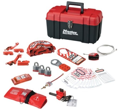 Master Lock 1457VE3KA Lockout Kit