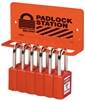 Master Lock S1506 Heavy-Duty Padlock Rack