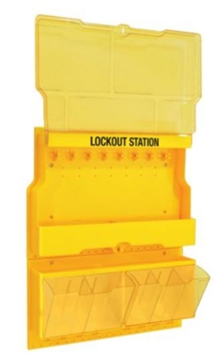 Master Lock S1900 Deluxe Lockout Station