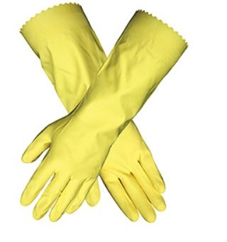 MCR 5255L Unsupported Latex Flock Lined Glove