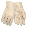 MCR 9124KI Hot Mill Knuckle Strap Cotton Glove - Regular Weight