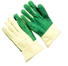Seattle Glove HG532BT Hot Mill Glove - 24 Oz Green Heavy Weight Band Top