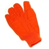 Seattle Glove OC020 Orange Double Palm Fluorescent Corduroy Glove