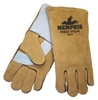 MCR 4622 Red Fox Side Leather Welder's Glove - Golden Brown Select Leather