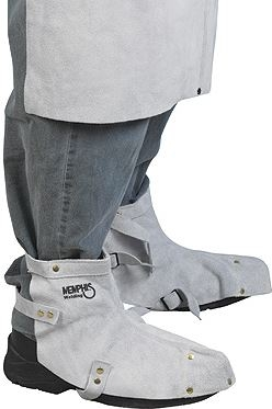 MCR 38505MW Memphis Leather Welding Shoe Protector