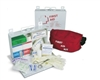 "North Safety 340025F 10-1/2""  x 7-1/4"" x 2-1/2"" #25 Swift Bulk First Aid Kit - Standard Steel Kit"