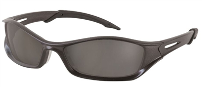 Crews TB112AF Tribal V Anti-Fog Safety Glasses - Gray Lens