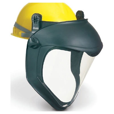 Uvex S8505 Bionic Faceshield with Hard Hat Adapter (No Suspension) - Uncoated