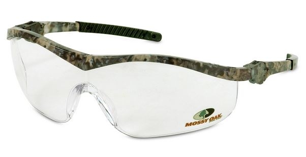 Crews MO110 Mossy Oak Safety Glasses - Clear Lens Camo Frame