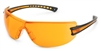 Gateway 19GB77 Luminary Safety Glasses - Orange Lens With Orange Insert