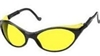 Uvex S1601 Bandit Safety Glasses - Amber Lens With Ultra-Dura Coating