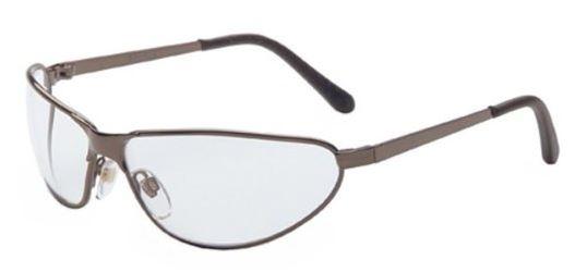uvex s2450 tomcat metal frame safety glasses clear lens with hardcoat coating