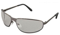 Uvex S2451 Tomcat Metal Frame Safety Glasses - Gray Lens With Hardcoat Coating