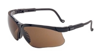 Uvex S3201 Genesis Safety Glasses - Expresso Lens With Ultra-Dura Coating
