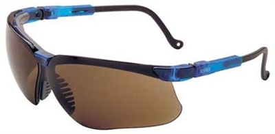 Uvex S3241 Genesis Safety Glasses - Expresso Lens With Ultra-Dura Coating