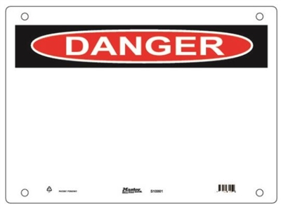 Guardian Extreme S10000 Danger Sign