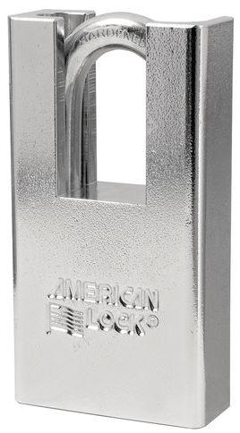 American Lock A5300ka Solid Steel Padlock