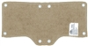 OccuNomix 870-15 Beige Snap-On Hard Hat Sweatband