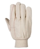 Southern Glove I183 Oil Rig 100% Cotton Glove - Import - Natural Knit Wrist