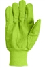 Southern Glove ICCHF18FG Fluorescent Green Cotton Glove - Import