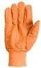 Southern Glove ICCHF18FO Fluorescent Orange Cotton Glove - Import