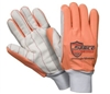 Southern Glove SIG005O Sarco Impact Poly/Cotton Outer Glove With Fluorescent Orange Fingers