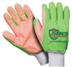 Southern Glove SIG006G Sarco Impact Orange Dot Canvas Outer Glove - Fluorescent Green Fingers