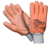 Southern Glove SIG006O Sarco Impact Orange Dot Canvas Outer Glove - Fluorescent Orange Fingers