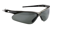 Jackson Safety 28635 V30 NEMESIS Polarized Safety Glasses - Gray Polarized Lens Gunmetal Frame