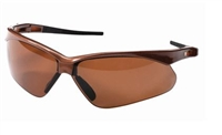 Jackson Safety 28637 V30 NEMESIS Polarized Safety Glasses - Brown Polarized Lens Brown Frame