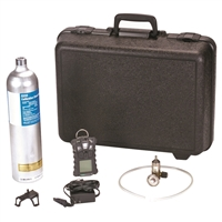 MSA 10110488 Altair 4X Multigas Detector - LEL, O2, CO, H2S, In Black Case With Calibration Cylinder And 0.25 lpm Regulator