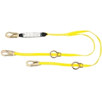 MSA 10129119 6' Workman Twin-Leg Energy-Absorbing Lanyard
