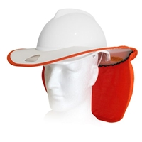 Snap Brim SBARC-CAP-BULL-WH/OR ARC Tested Snap Brim For Bullard Cap Style Hard Hat