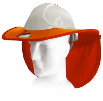 Snap Brim SBSTD-WB-C34-OR/OR Standard Snap Brim For Bullard C34 Hard Hat