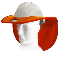 Snap Brim SBSTD-CAP-TGARD-OR/OR Standard Snap Brim For MSA TOP GARD & Honeywell Fibre Metal Cap Hard Hat