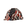 MSA 10204771 One Nation V-Gard Hydro Dip Slotted Cap Style Hard Hat