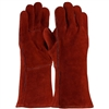 PIP 73-7015A Shoulder Split Cowhide Leather Welder's Glove With Cotton Liner