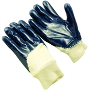 Seattle Glove V9875KW Men's Blue Nitrile Palm Coated Glove