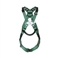 MSA 10072479 Workman Harness - Standard With Qwik-Fit Chest And Leg Buckles And Back Attach