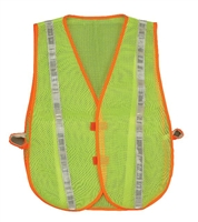 2W International 8028A Green Blaze Mesh Safety Vest