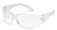 Gateway 4680 Starlite Safety Glasses - Clear Lens With Clear Temple