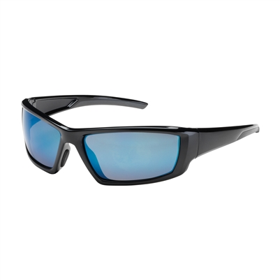 Gateway 469M Starlite Safety Glasses - Blue Mirror Lens With Gray Temple