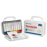 Pac-Kit 238-AN 10 Unit Poly First Aid Kit