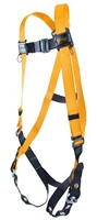 Titan T4500/UAK Full-Body Non-Stretch Harness With Back D-Rings And Tongue Leg Strap Buckles