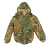 RASCO CJFQ2209 Flame Resistant Camo Duck Hooded Jacket With Quilted Lining